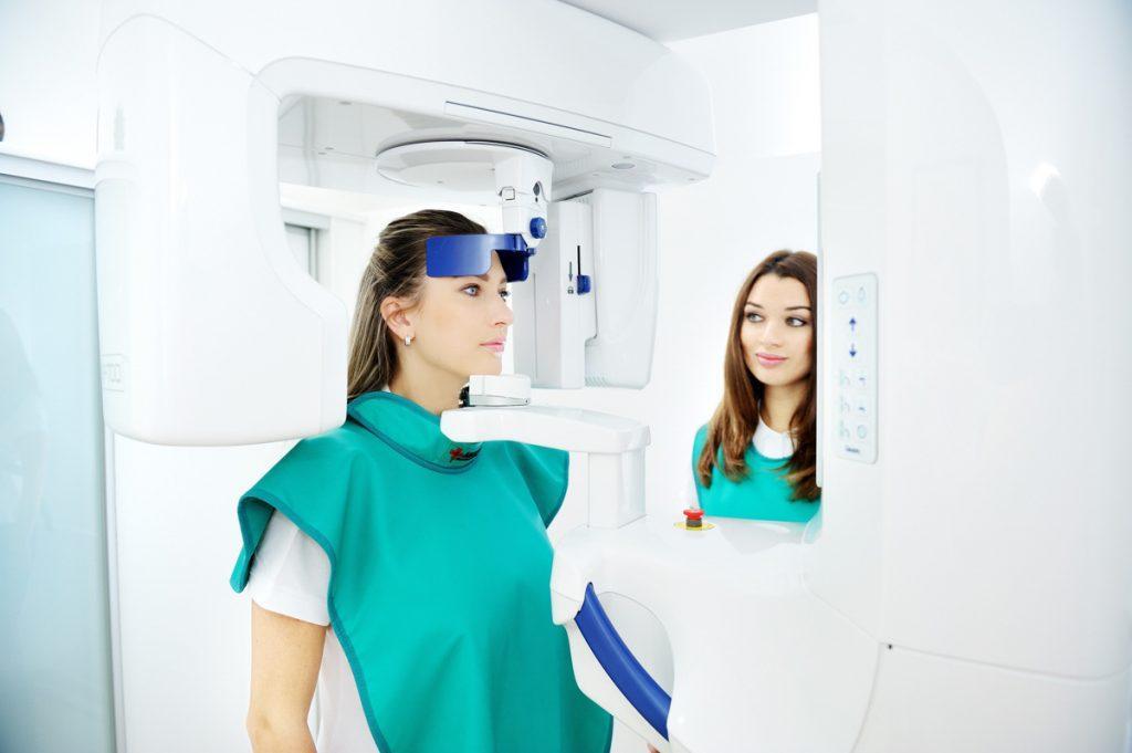 Компьютерная 3d томография - процесс съемки